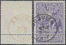 "Expositions - N°71 Obl Simple Cercle ""Ocquier"" - 1894-1896 Exhibitions"