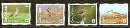 Cook Islands  2017 Micheln° 2143-2146 *** MNH  Fauna  WWF Oiseaux Vogels Birds Albatros - Ungebraucht