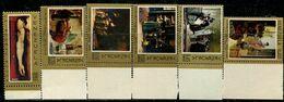 VZ0399 Venezuela 1969 Collection Of 6 Famous Paintings - Venezuela