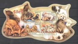 BC654 2011 GUINE GUINEA-BISSAU PETS DOGS CAES 1KB MNH - Hunde