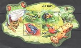 BC660 2011 GUINE GUINEA-BISSAU FROGS AS RAS 1KB MNH - Rane