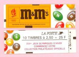 """CARNET 2715-C 7 Marianne De Briat Fermé  état LUXE """"M & M's"""" SOUS FACIALE - Carnets"""