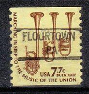 USA Precancel Vorausentwertung Preo, Locals Pennsylvania, Flourtown 841 - United States