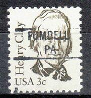 USA Precancel Vorausentwertung Preo, Locals Pennsylvania, Fombell 841 - United States