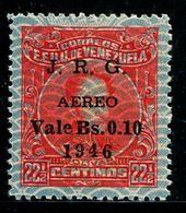 VZ0407 Venezuelan 1947 Celebrity Stamp 1V MLH - Venezuela