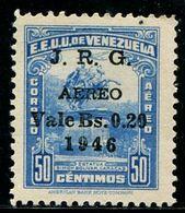 VZ0408 Venezuela 1947 Monument Stamped With 1V MLH - Venezuela
