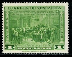 VZ0416 Venezuela 1950 Constituent Assembly Painting 1V Engraved Version - Venezuela