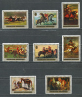 Rwanda - 338/345 - Le Cheval Dans La Peinture - 1970 - MNH - Rwanda