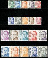 VZ0420 Venezuela 1976 National Father Bolivar 20V Engraved Catalogue 60 USD - Venezuela