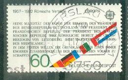 ALLEMAGNE FEDERALE - N° 963 Oblitéré - Europa. 25° Anniversaire Du Traité De Rome (extrait Du Traité). - Europa-CEPT