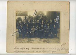Wetteren :  Aandenken Der Tentoonstelling Ten Voordele Krijgsgevangene 1916 ( Foto Op Karton 24.5 X 20.5 Cm ) - Lugares