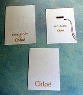 "Lot 3 Cartes à Parfumer ""CHLOE"" - Modern (vanaf 1961)"