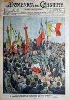 1920 - N° 38 - COPERTINA ORIGINALE - LA DOMENICA DEL CORRIERE - IL PELLEGRINAGGIO DEGI ALPINI SULL'ORTIGARA - Libri, Riviste, Fumetti