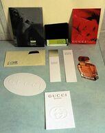 """Lot De Cartes à Parfumer """"GUCCI"""" - Modern (vanaf 1961)"""