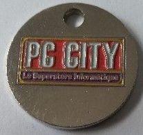 Jeton De Caddie - PC CITY - Le Superstore Informatique - En Métal - - Trolley Token/Shopping Trolley Chip