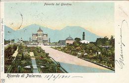 (C).Palermo.Favorita Dal Giardino.F.to Piccolo.Viaggiata (c17) - Palermo