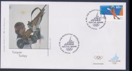 Turkey FDC 2006 Torino Olympic Games   (NB**LAR9-168) - Winter 2006: Torino