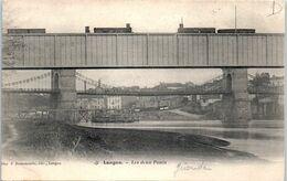 33 LANGON - Les Deux Ponts (chemin De Fer)  * - Langon
