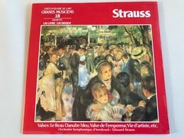 Johann Strauss Jr., Eduard Strauss Jr. – Valses LP Serie Chefs D'oeuvre De L'Art Des Grands Musiciens 18 - Classical