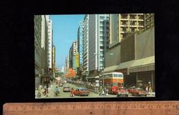 HONG KONG : Tsim Sha Tsui Street Kowloon Autobus Imperial Bus Vintage Cars - China (Hongkong)