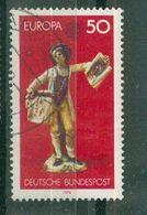 ALLEMAGNE FEDERALE - N° 740 Oblitéré - Europa. Colporteur De Gravures Sur Cuivre. - 1976