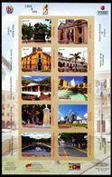 VZ0431 Venezuela 2008 Ancient City Scenery Architecture, Etc.S/S Impref - Venezuela