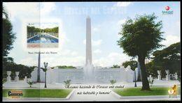 VZ0432 Venezuela 2008 Monument And Park S/S Impref - Venezuela