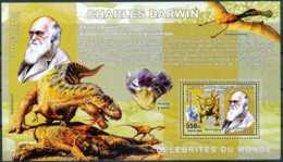 NB - [30131]SUP//**/Mnh-c:13e-BL376,Célébrités Du Monde - Charles Darwin - Biologiste Et Naturaliste Britannique. - Ongebruikt