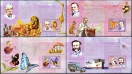 NB - [30175]SUP//**/Mnh-c:52e-BL379/82, Célébrités Du Monde - Les Grands Médecins - Albert Schweitzer, Louis Pasteur, Ma - Ongebruikt