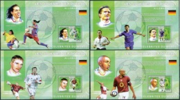 NB - [30315]SUP//**/Mnh-c:52e-BL394/97, Célébrités Du Monde - Les Joueurs De Football - Ronaldinho Gaucho, Frank Lampard - Ongebruikt