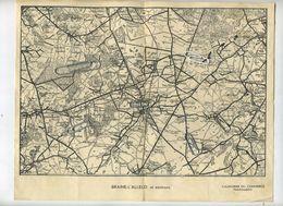 Braine-L'Alleud  Et Environs - Maps