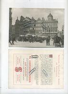 Bruxelles - Brussel : Grand'place Et Maisons Des Corporations ( Reclame Compagnie SINGER  ) 17.5 X 12.5 Cm - Advertising