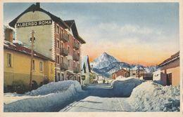Cartolina  - Postcard / Non Viaggiata - Unsent /   Clavières - Albergo Roma. - Italien