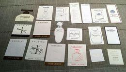 "Lot De  Cartes à Parfumer ""ESTEE LAUDER"" - Modern (vanaf 1961)"