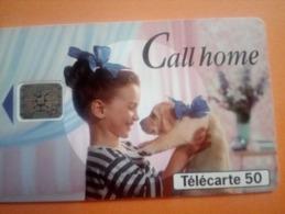 TELECARTES - Carte Téléphonique : Publicité Call Home - Telefone
