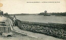Environs De BAGNOLS , Le Rhone A St-Etienne Des Sorts - France