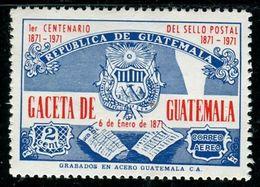 VZ0445 The National Emblem Of Guatemala 1971 Constitution 1V - Guatemala