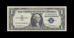 1957 UNITED STATES SILVER CERTIFICATE $1  (( GEM UNC )) - Certificati D'Argento (1928-1957)