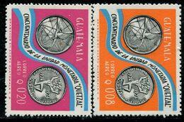 VZ0449 Guatemala 1976 Bank Coin 2V - Guatemala