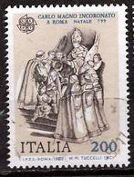 PIA - ITA - 1982 : Europa - Avvenimenti Sorici : Carlo Magno Incoronato A Roma - Natale 799  - (SAS 1375) - Europa-CEPT