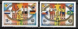 LESOTHO     -    FOOTBALL   /  Espana 82.   Neufs ** - Lesotho (1966-...)