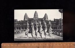 CAMBODGE Cambodia : Danse Classique Khmere à Angkor Wat Siemreap Women Dance Femme Cambodgienne 1969 Stamps Timbres - Cambodja