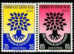 VZ0461 Costa Rica 1960 International Year Of Refugees 2V - Costa Rica