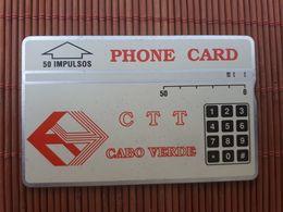 Landis & Gyr Phonecard Cabo Verde 329A Used Rare - Kaapverdische Eilanden