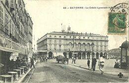 Bayonne Le Credit Lyonnais Et Le Theatre - Bayonne