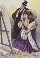 75.- PARIS L. DUCHESNE  - Maison Jouanny Papiers Peints ( Dessin Guillaume  ) - Advertising
