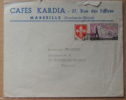 1960 - Griffe D'annulation De Saint-Bonnet-le-Château - FRAIS DE PORT A PREVOIR - 1921-1960: Periodo Moderno