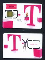 UNITED KINGDOM - Mint/Unused SIM Chip Phonecard - Royaume-Uni