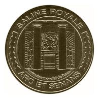 Monnaie De Paris , 2010 , Arc Et Senans , Saline Royale , Porche D'entrée - Monnaie De Paris