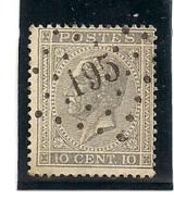 17A-LP195-JAUCHE - 1865-1866 Perfil Izquierdo